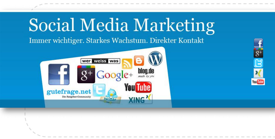 Darum Social Media - Facebook, Google Plus und Co