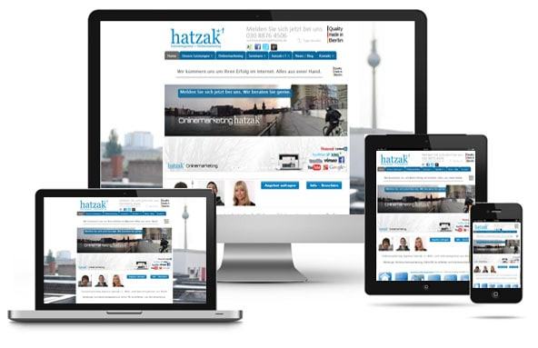 Responsive Webdesign und Layout - Webagentur aus Berlin
