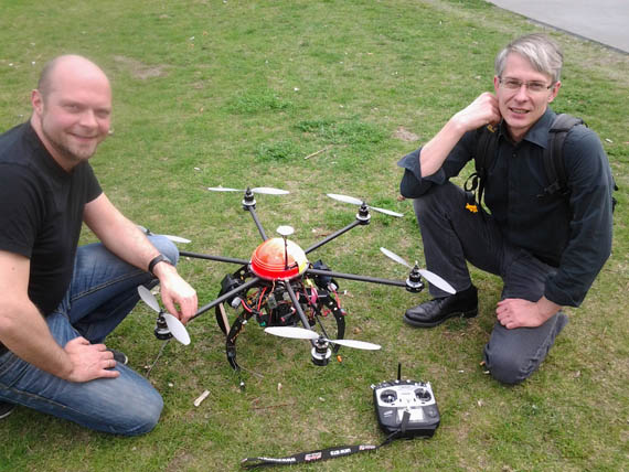 Drohnen Luftaufnahmen Luftbilder - Ihre Agentur aus Berlin