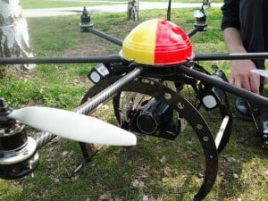 Quadrokopter Oktokopter mit Kamera Luftaufnahmen