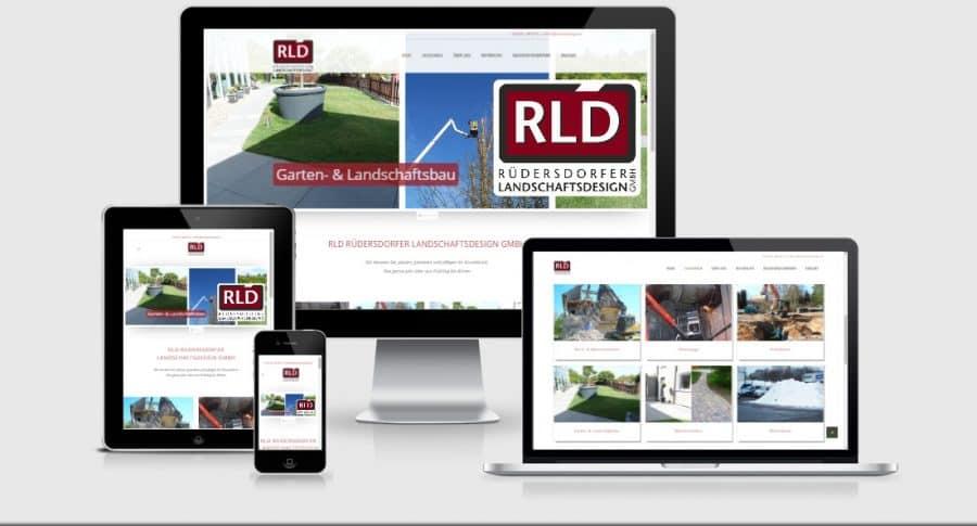 2017-01 WordPress-Webdesign und Webseite für ein Garten & Landschaftsbau Unternehmen