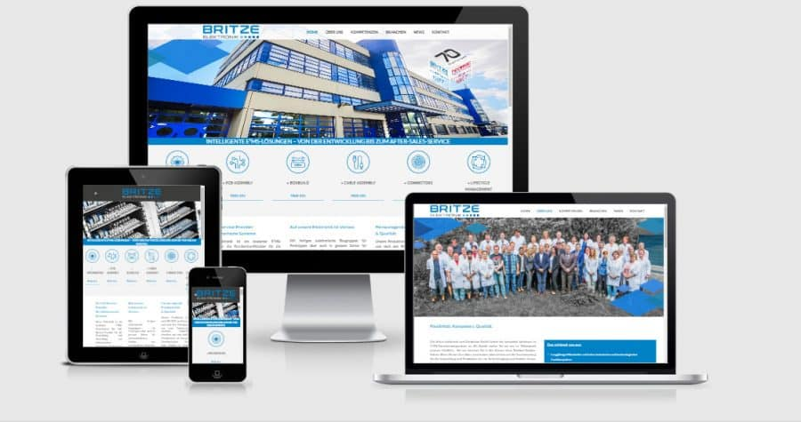 Wordpress Agentur in Berlin - Britze Webdesign