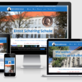 Wordpress Webdesign Programmierug - Ernst-Schering Schule in Berlin Mitte