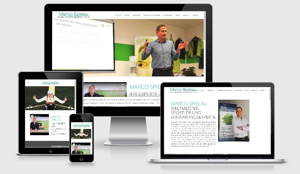 Referenz: Marco Spielau - WordPress Webprogrammierung