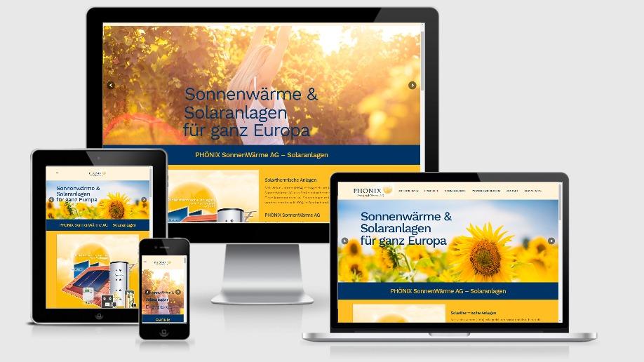 2019 Projekt Sonnenwaermeag - Wordpress Webdesignagentur Berlin