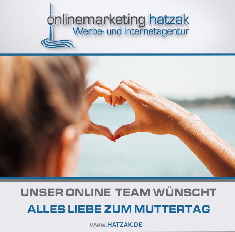 2019 Muttertag WordPress Webdesignagentur hatzak