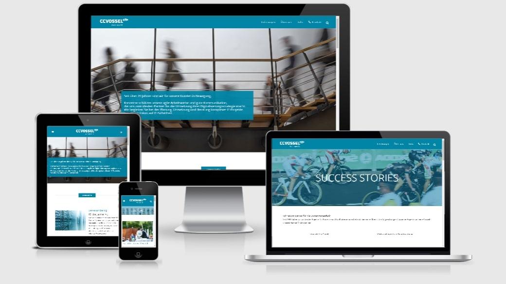 Wordpress Webdesign Agentur - ccvossel