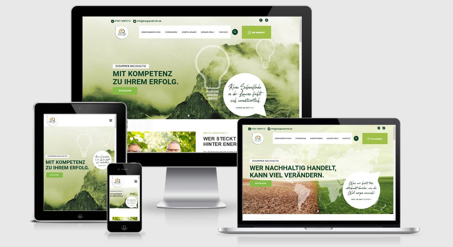 2020-05 WordPress Webdesign energiewelt-info-gmbh