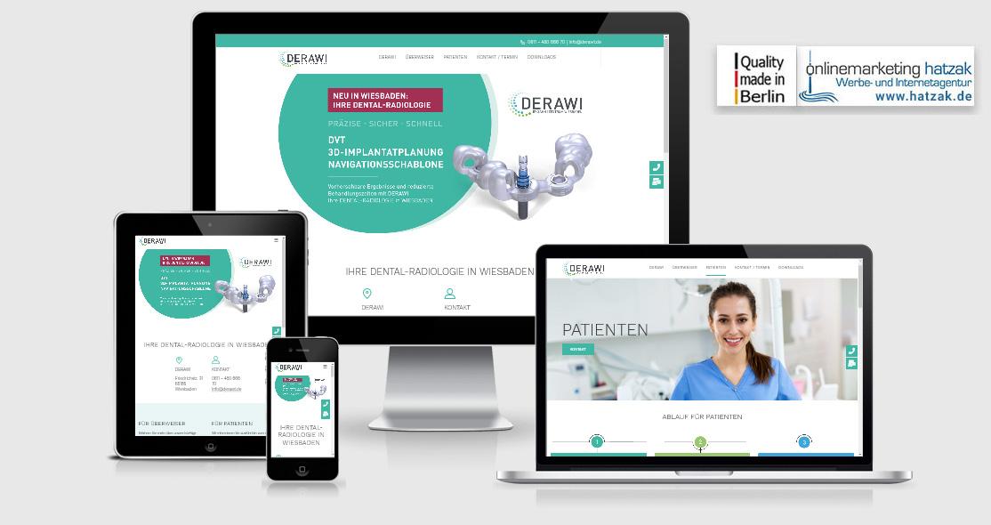 Wordpress Webdesign: DERAWI Wiesbaden