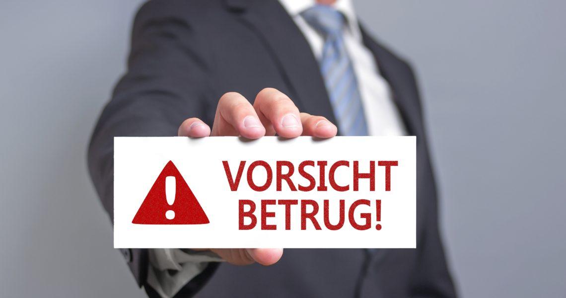 Betrüger - Betrug vorbeugen und erkennen