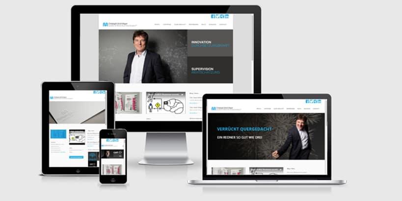 Webdesign - WordPress - CUM-Webseite-Online