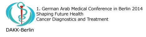 DAKK Berlin 2014 - 1. German Arab Medical Conference in Berlin