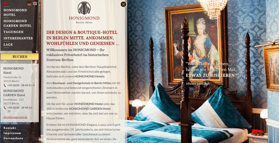 Design und Boutique-Hotel in Berlin-Mitte