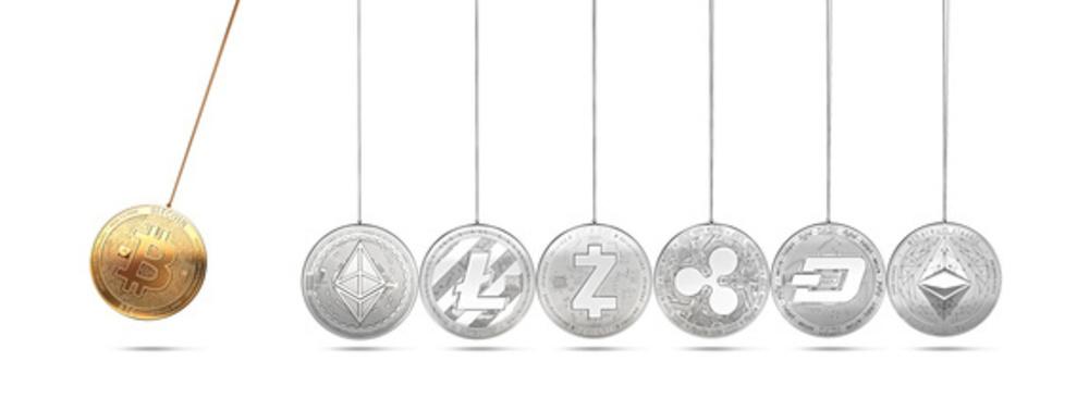 Kryptowährungen - Bitcoin Ethereum Cardano