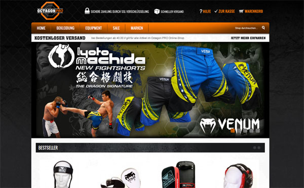 Mixed Martial Arts MMA Online-Shop