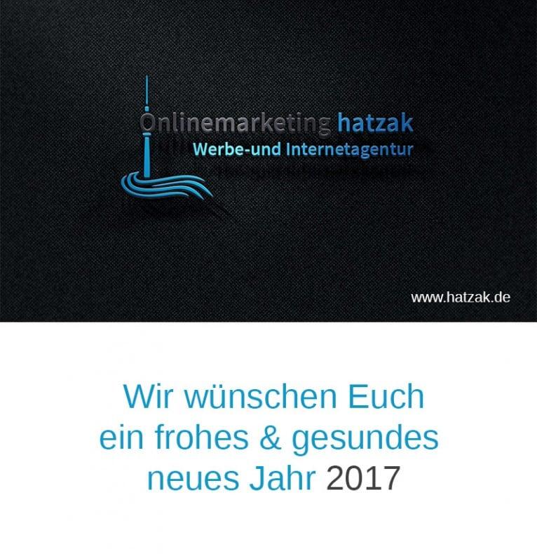 Onlinemarketing hatzak Neujahr2017