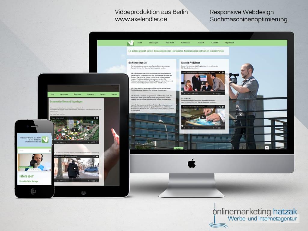 Referenzen Webdesign Axel Endler