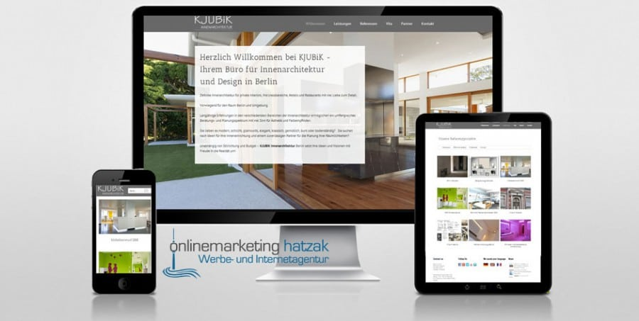 Referenzen Webdesign Kjubik