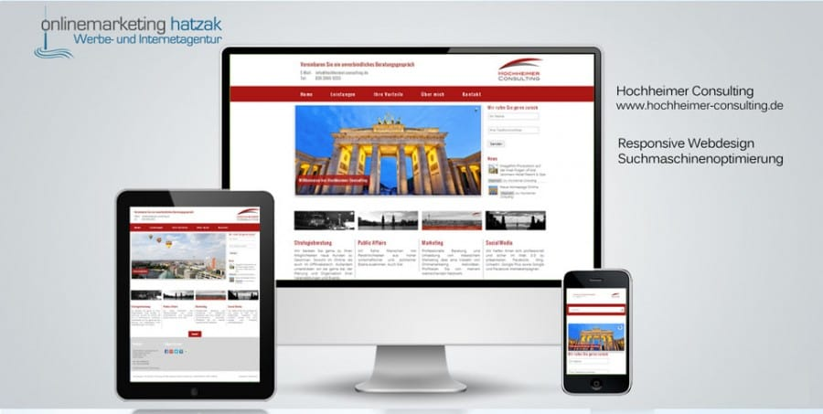 Webdesign Referenz Hochheimer Consulting