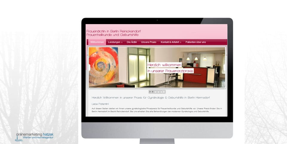 Webdesign-Referenz-frauenarzt-berlin