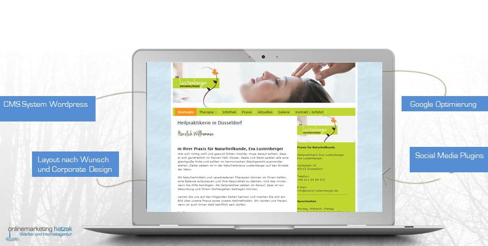 Webdesign-Referenz-heilpraktikerin-duesseldorf