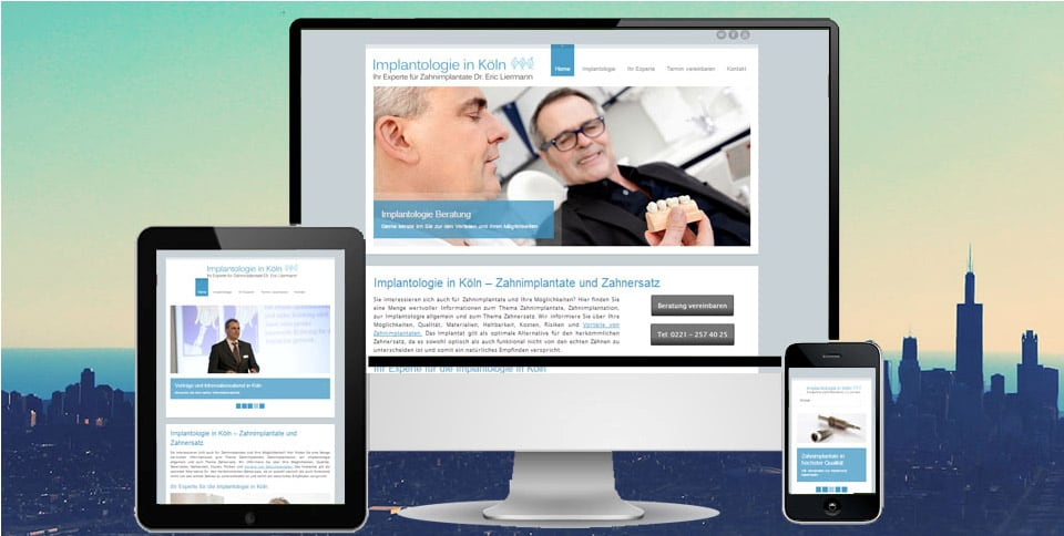 Webdesign-Referenz-implantate-koeln-liermann