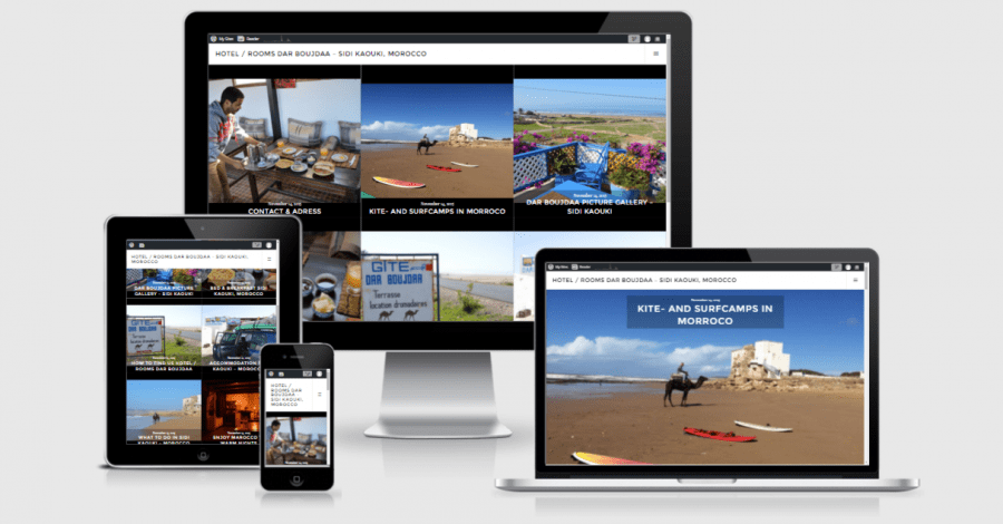 hoteldarboujdaa-sidi-kaouki-wordpress-webdesign