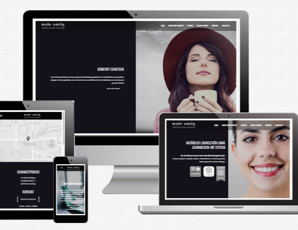 mohr-smile Wordpress-Webdesign Agentur