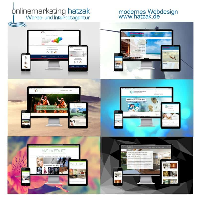 Onlinemarketing Agentur hatzak -modernes Webdesign aus Berlin