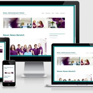 zahnarztpraxis-patzke-webdesign-news