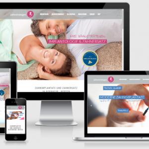 Zahnarztpraxis Webdesign - Zahnstrategen Wordpress- Webseitenerstellung
